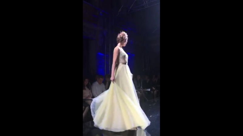 Показ вечерних платьев от Татьяны Каплун (10.10.2018)