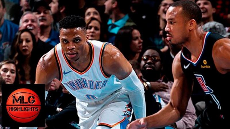 Oklahoma City Thunder vs LA Clippers Full Game Highlights | 12.15.2018, NBA Season