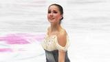 Алина Загитова выиграла короткую программу. Женщины. Чемпионат мира пофигурному катанию 2019