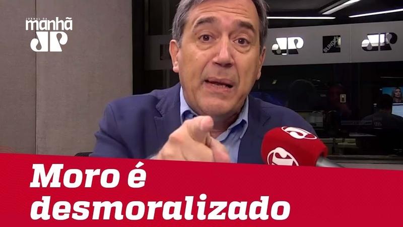 Moro é desmoralizado por milicianos digitais | MarcoAntonioVilla