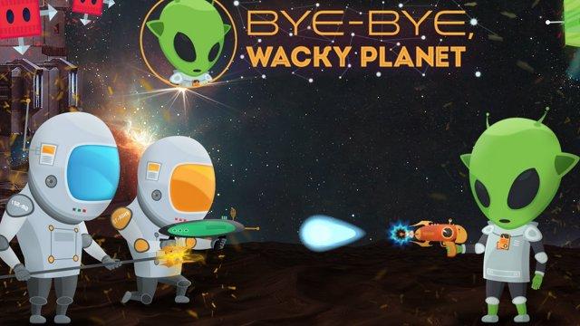 Bye-Bye, Wacky Planet (милый инопланетянин спасается от злобных людей)