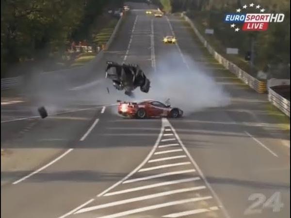 24h of Le Mans 2000 2015 зачётные аварии