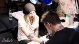 Underoath's Spencer Chamberlain Gets Crazy Alien Lighthouse Tattoo
