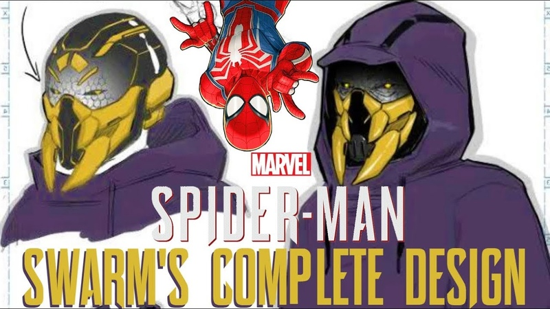 Spider-Man PS4 SWARMS COMPLETE DESIGN City at War HYPE, GWEN STACY(), More