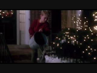 Dean Martin - Let It Snow - Кадры из Фильма Один дома