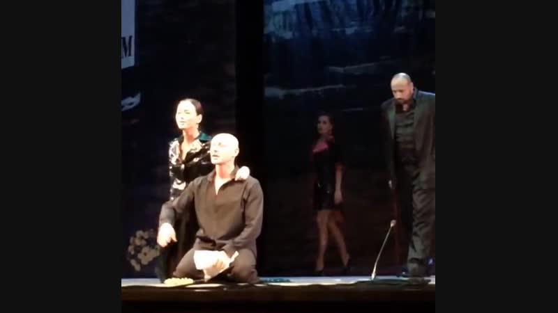 Фрагмент спектакля (2) Мастер и Маргарита 18.08.2016 г.Челябинск