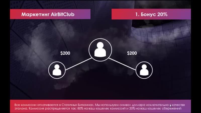 ПОНЯТНАЯ ПРЕЗЕНТАЦИЯ AIRBITCLUB 3.0 _ PRO100BUSINESS _ Сетевой маркетинг _ MLM _ МЛМ