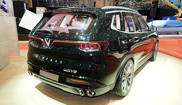 Кроссовер VinFast Lux V8: вьетнамский BMW с американским мотором