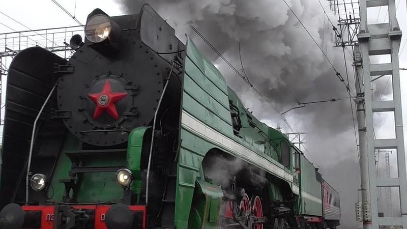 Паровоз П36-0120 Экскурсионный Москва-Голутвин