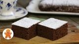 Пирог с гречневой мукой и какао (постный)