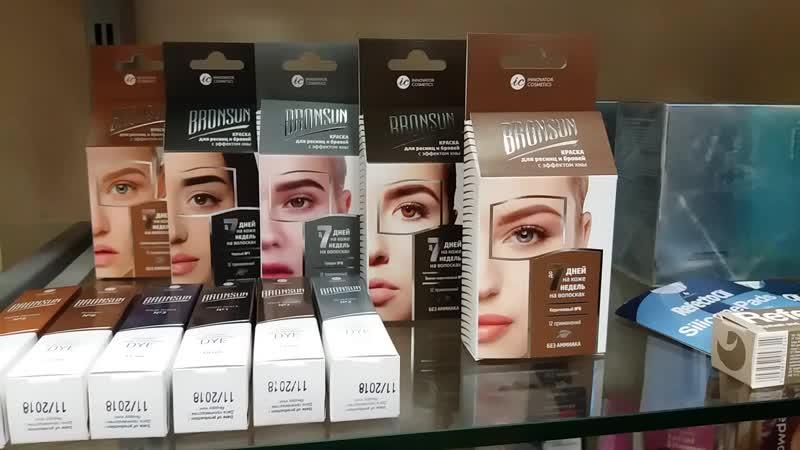 Материалы для ресниц и бровей от бренда SEXY от ТМ Innovator Cosmetics