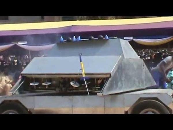 Kantanka 2012 Replica Missile Launcher by Apostle Dr Kwadwo Safo of Ghana