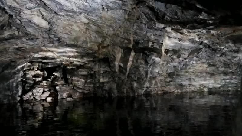 Подземная часть парка Рускеала 21.10.2018 (ч.1)