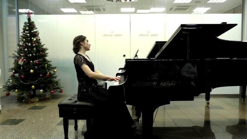 Ф. Шопен, Баллада №4. Исполняет Софья Иванушкина.