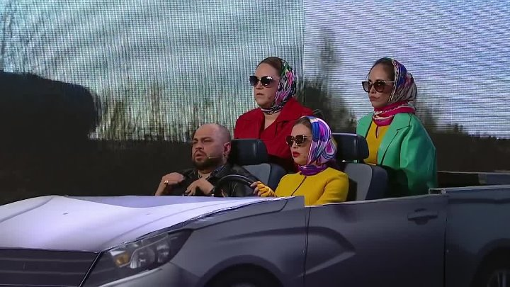 Уральские Пельмени - Бла-бла-кар (Такси до Алапаевска)