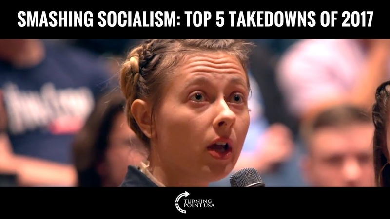 Charlie Kirk Smashes Socialism! Top 5 Takedowns of 2017 - YouTube