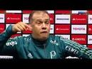 Eduardo Baptista gritou e desabafou na entrevista coletiva depois do Jogo Peñarol 2 x 3 Palmeiras
