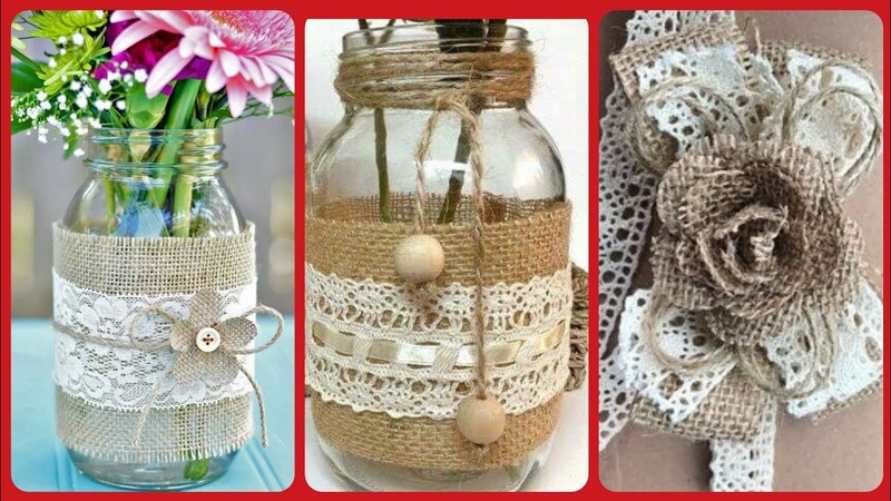 Beautiful easy simple bottle can craft ideas