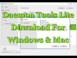 Daemon Tools Lite Download For Windows And Mac