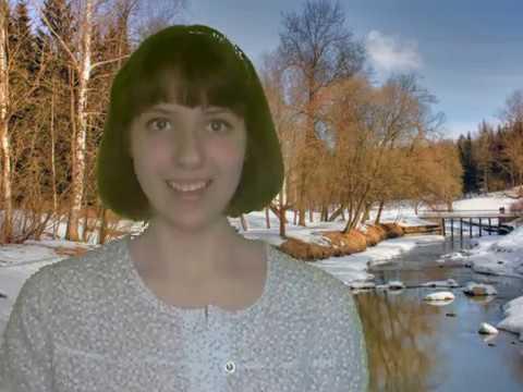 Снега потемнеют синие А Твардовкий Журавлева Марина мелодекламация