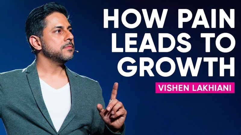 How To Bounce Back From Pain Use It For Your Greatest Growth | Vishen Lakhiani