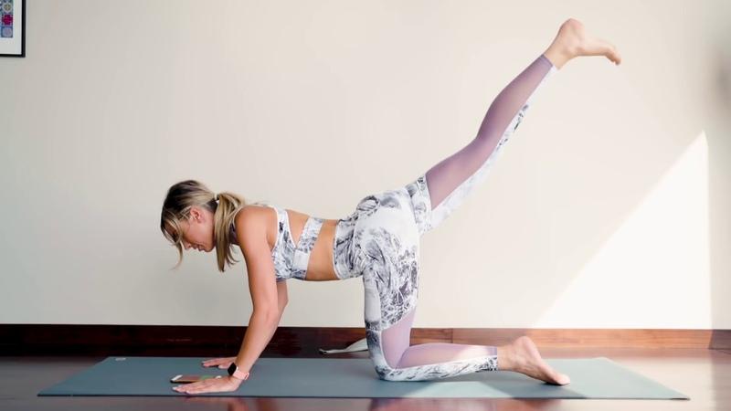 Lilly Sabri - Under Butt Workout | Тренировка для ягодиц на полу (низкоударная)
