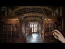 Hogwarts Library [ASMR] ⚡ Harry potter Ambience / Relaxing Page flipping Book sounds