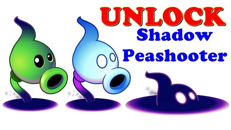 Plants vs Zombies 2 Unlock Shadow Peashooter Pvz 2 Gameplay 2018