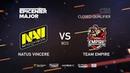 Natus Vincere vs Empire, EPICENTER Major 2019 CIS Closed Quals , bo3, game 1 [Adekvat Smile]