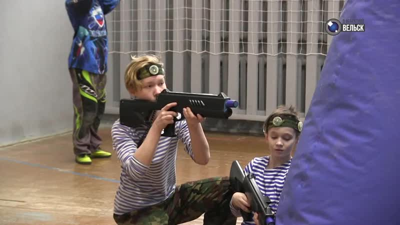 Городское телевидение Программа В объективе Вельск В городе прошли первые соревнования по спортивному лазертагу среди школьн