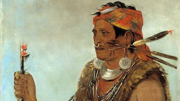 КАК ВОЖДЬ ТЕКУМСЕ СТАЛ ЖЕРТВОЙ ПРОТИВОСТОЯНИЯ ВАШИНГТОНА И ЛОНДОНА 5 октября 1813 года в бою с войсками США погиб лидер одного из крупнейших индейских союзов Текумсе. По свидетельствам