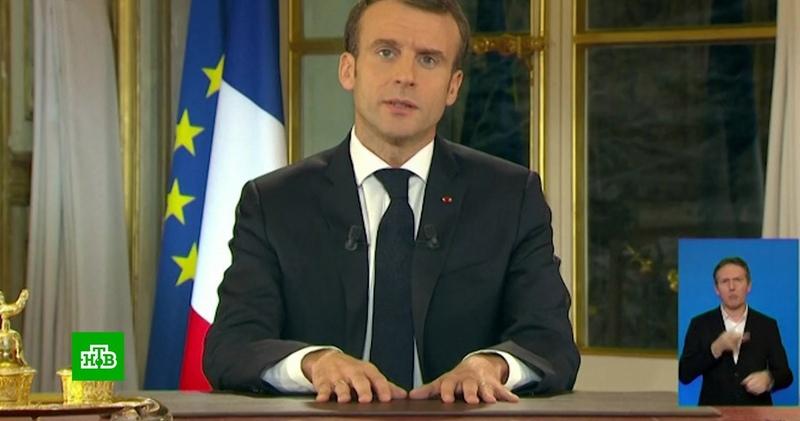 Макрон назвал виновных в беспорядках во Франции