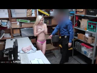 Riley star [ blondes &  in the office &  premium &  with talk / pussy , sex in clothes , robber , cumshot in mouth , with the pl