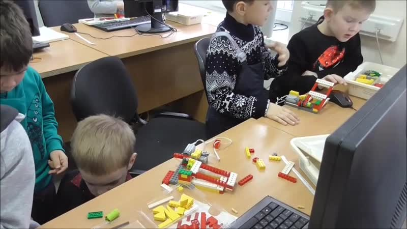 районные соревнования Юный конструктор - категория Wedo
