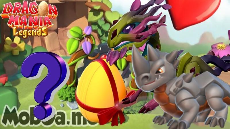 Breeding Dragons Together?! , Rhino_Dragon Briar_Dragon , Dragon Mania Legends | Part 1328 HD
