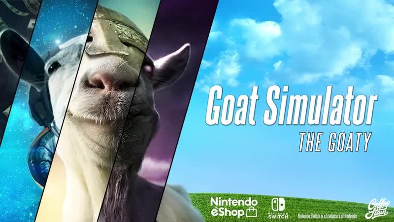 Goat Simulator The GOATY - Релизный трейлер (Nintendo Switch)