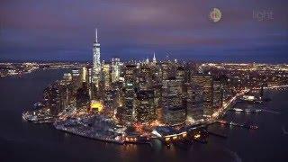 New York City Night Aerial - Using Ronin M, Sony A7Sii