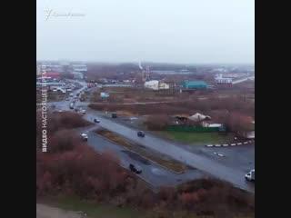 уникальный кадры Лабытнанги - неприступного города за полярным кругом, в котором заточен Олег Сенцов