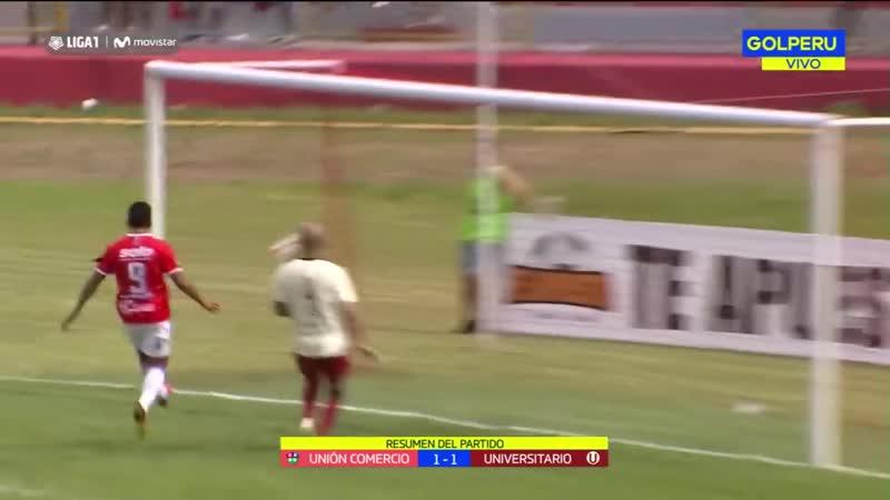 Universitario empató 1-1 ante Unión Comercio por fecha 1 de Liga 1