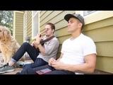 BIG TIME RUSH REUNION!!! Carlos ft Kendall singing