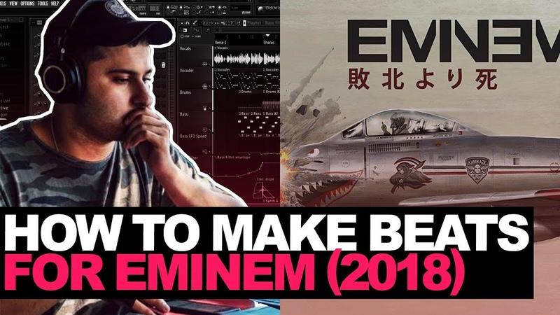 Making a Beat For Eminem In 2018 (FL Studio Cookup)   E-Trou