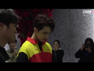 [Fancam] 181014 VIXX Ken on the way to Musical 'Iron Mask'