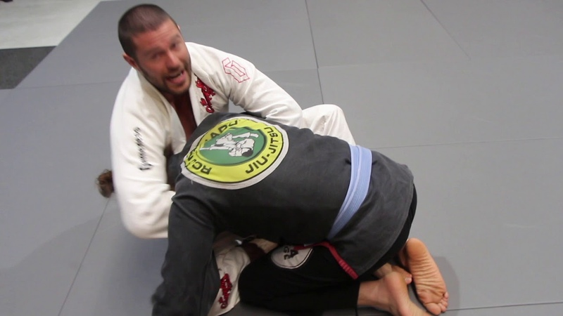 Butterfly Sweep Guillotine Choke Combo