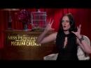 Eva Green Web Miss Peregrine's Home for Peculiar Children IMDb Interview