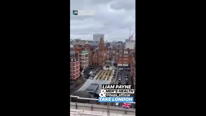 INFO Vidéo des coulisses de la séance photo de @LiamPayne pour @MensHealthAU ! - - Via la story Instagram du magazine (1)