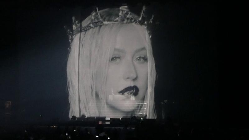 Maria Genie in a Bottle Dirrty Christina Aguilera@MGM Casino Oxon Hill, MD 9/30/18