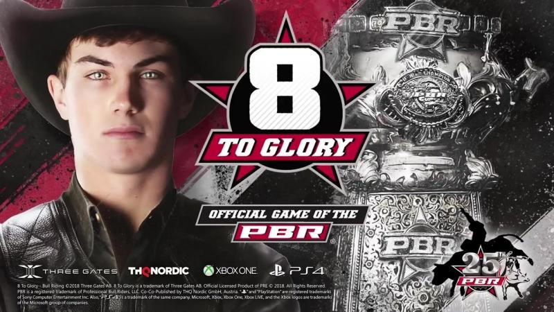 Трейлер игры 8 To Glory - Bull Riding, официальная игра PBR для консолей!