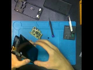 Замена дисплейного модуля на lenovo a6010