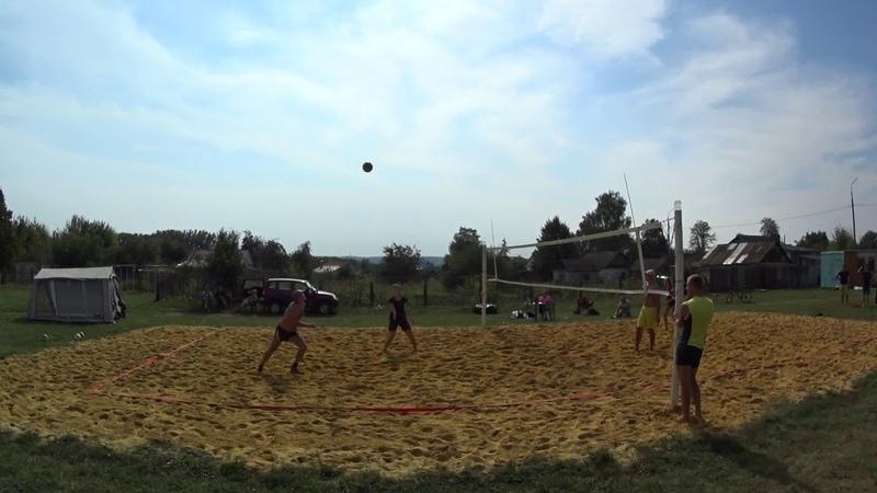 Игра 6 Пляжный волейбол - закрытие сезона микст Новосиль 2018/09/15