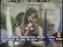HQ Mariah Carey Hero Live Peace Officer's Memorial Service 1996 Singing for Clinton